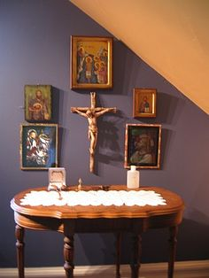 Pictures of Family Altars