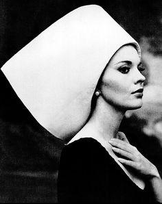 Jean Seberg photographed by Carlo Bavagnoli, 1963