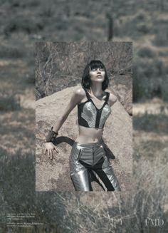 Ranya Mordanova featured in Red Desert, June 2011. TANK Magazine