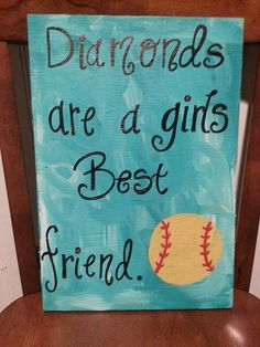 Softball Players with Goals Succeed in Denim Softball Decorations, Softball Crafts, Softball Quotes, Softball Players, Girls Softball, Baseball Mom, Sport Quotes, Softball Things, Softball Stuff
