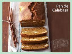 Delicioso pan hecho a base de calabaza, especial como  postre o para acompañar el café.