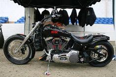 Harley Davidson Choppers & AC DC | I Love Harley Bikes