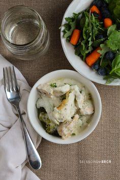 Creamy Chicken Casserole served