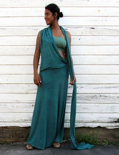 Gaia Conceptions - The Sari Wanderer Long Skirt, $175.00 (http://www.gaiaconceptions.com/the-sari-wanderer-long-skirt/)