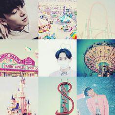 Chen jongdae exo amusement park aesthetic