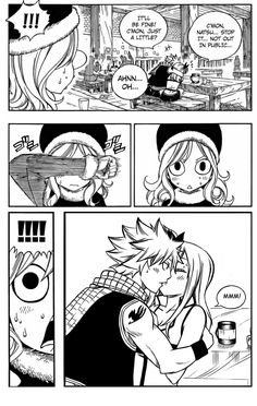 This was from when Juvia was preparing gift for Gray and suddenly everywhere she looked were couples enjoying themselves. Though it didn't happen actually, it is a proof that of Nalu Fairy Tail Meme, Fairy Tail Gruvia, Fairy Tail Comics, Fairy Tail Natsu And Lucy, Fairy Tale Anime, Fairy Tail Art, Fairy Tail Guild, Fairy Tail Manga, Fairy Tail Ships
