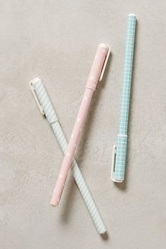 Pastel Pocket Pen #anthropologie