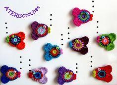 Crochet pattern fish by ATERGcrochet. €2.10, via Etsy.