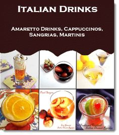 Make Italian drinks like limoncello, amaretto sours and cappuccino. I have a sangria recipes collection and an amaretto recipes collection.See over 235 Italian dessert recipes with photos Italian Drinks, Italian Party, Italian Desserts, Italian Dishes, Italian Recipes, Italian Foods, Sangria Recipes, Drinks Alcohol Recipes, Non Alcoholic Drinks