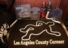 Skeletons in the Closet - the gift shop at the LA County Coroner's office
