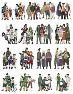 Naruto squads/teams throughout the series until Boruto Naruto Shippuden Sasuke, Anime Naruto, Naruto Comic, Gaara, Wallpaper Naruto Shippuden, Naruto Sasuke Sakura, Naruto Cute, Kakashi Hatake, Naruto Wallpaper