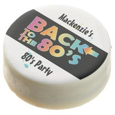 Back to the 80's Party Dipped Oreo - kitchen gifts diy ideas decor special unique individual customized