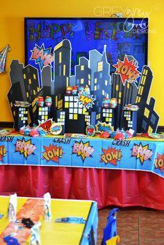Superhero Birthday Party Ideas | Photo 18 of 24
