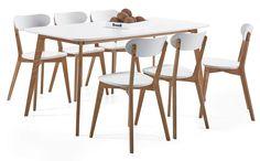 APRIL-ruokaryhmä 6 tuolilla