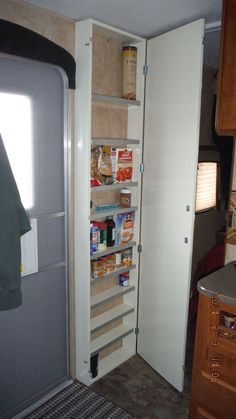 The Best Cheap and Easy RV Camper Organization and Storage for Travel Trailers No 70