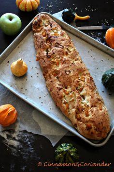 Pumpkin Apple Fennel Bread
