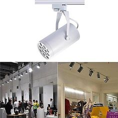 Spotlights  UR Spotlights 12 W 12 High Power LED 0 LM Warm White  Cool White  Natural White Rotatable Track Lights AC 85265 V *** This is an Amazon Associate's Pin. Locate the item on Amazon website simply by clicking the image.