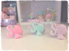 Barbie ring pastel fairy kei hand made kawaii by AliceFairydream on Etsy