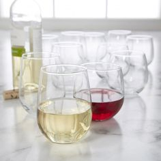 Libbey Vina Stemless Wine Glass - Set of 12 available for sale at the best price at Kitchen Stuff Plus your Wine & Champagne Glasses store. Christmas Gifts For Him, Wine Glass Set, Champagne Glasses, Bakeware, Kitchen Gadgets, Punch Bowls, Red Wine, Alcoholic Drinks, Great Gifts