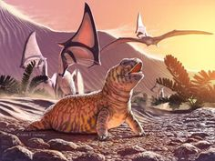 Fossil remains of Old World lizard discovered in the New World overturn long-held hypothesis of lizard evolution | Geology Page