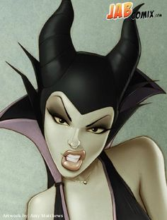 Maleficent by Amy Matthews