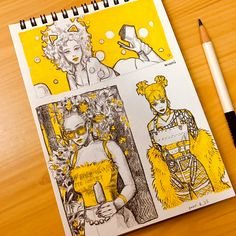 Posca Marker, Marker Art, Kunstjournal Inspiration, Sketchbook Inspiration, Cool Art Drawings, Art Drawings Sketches, Pretty Art, Cute Art, Arte Dope