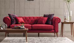 Ekskluzywna kanapa trzy osobowa Helena