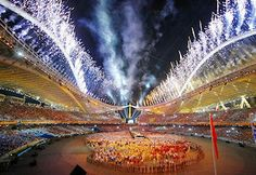 Great finales to the Opening Ceremony!