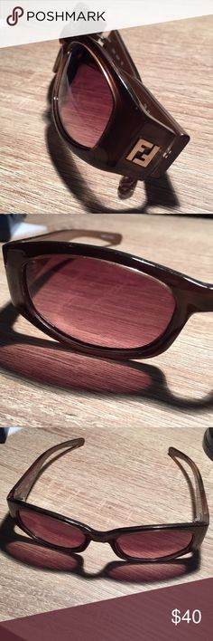 FENDI 🕶 Sunglasses FS276 Brown Authentic Fendi model fs276 Frame color Brown, Lens color: brown Frame size 53 mm - 19mm - 135mm  Comes with original case and clening cloths. Fendi Accessories Sunglasses
