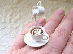 Kawaii Tea Ring Tea With Cream
