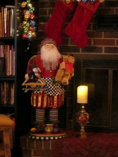 Mackenzie Child's Santa