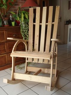 recycled pallet rocking chair - Home Decor Diy Cheap Best Wood For Furniture, Pallet Furniture, Recycled Pallets, Wood Pallets, Pallet Wood, Pallet Ideas, Diy Pallet, Easy Woodworking Projects, Wood Projects