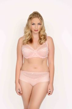 705c85cff517a Q-T Intimates 5556 bra and panty set Rose Lace