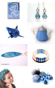 blue and white by eleni on Etsy--Pinned with TreasuryPin.com
