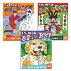 Extreme Dot to Dot: Favorites Set of 3 - MindWare.com