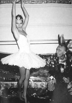 kate moss. ballerina.