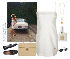 """Senza titolo #1697"" by styledincontrast ❤ liked on Polyvore featuring Tom Ford, Chanel and Versace"