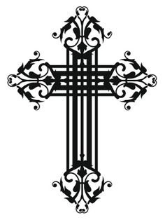 41 best vintage cross tattoos images on pinterest cross tattoo rh pinterest com vintage cross tattoo designs Awesome Cross Tattoos for Men