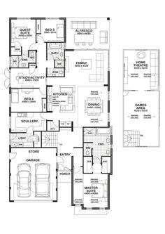 Search for new homes in San Diego. Pardee Homes builds green, and sustainable houses, cascades, bungalows, townhomes in sought-after locations. Dream House Plans, House Floor Plans, My Dream Home, Home Design Plans, Plan Design, The Plan, How To Plan, Pardee Homes, Two Story Foyer