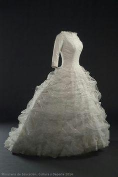 Wedding dress, Balenciaga,  1957