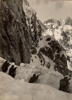 4 May 1916, Montasio -- Austrian Alpine Front Lines