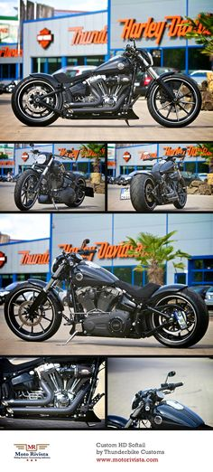 #Custom #Harley-Davidson #Softail by #Thunderbike Customs Germany