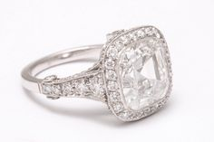 Tiffany & Co., Diamond Solitaire Ring