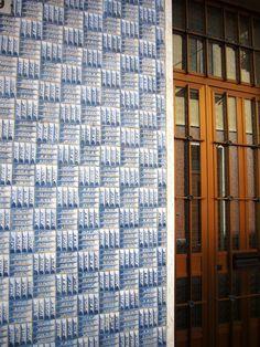 Great tiles. Great door. Italian style in the 60's