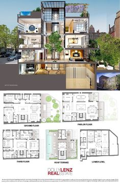 : Located in the heart of West Village, 134 Charles street is a multi family building. Sims 4 House Plans, House Plans Mansion, House Layout Plans, Duplex House Plans, Dream House Plans, House Layouts, House Floor Plans, Hotel Floor Plan, Luxury Floor Plans
