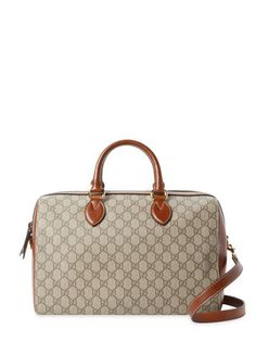 GG Supreme Large Satchel by Gucci