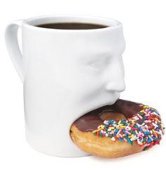 Doughnut pocket mug.
