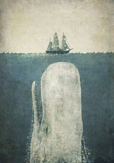 Ahab made such a big deal about poor old Moby Dick.  Couldn't he have just been an average white whale, going about his business?