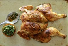 Chimichurri, Sauce, Champagne, Turkey, Chicken, Meat, Food, Baked Chicken, Suppers
