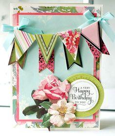 Happy Birthday...undeniably feminine!  LOVE!!